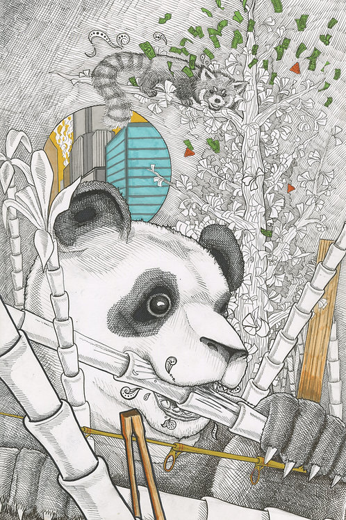 """""""Bamboo Forest"""" by Noah Hartley"""