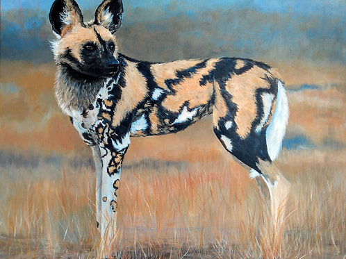 """""""Painted Wolf"""" by Robin Bulger"""