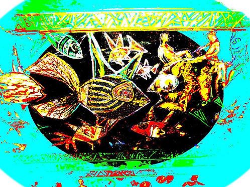 """Hanukkah Fish"" by Ronnie Frances Greenspan"
