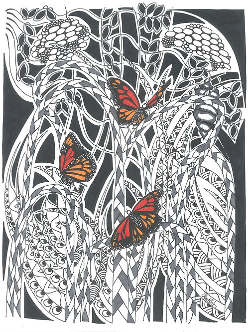 """Monarch Butterfly"" by Tharanga Goonetilleke"