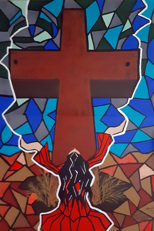 """""""Lady At The Cross"""" by Tillman Jackson"""