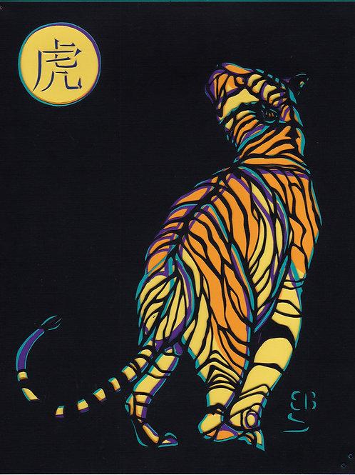 """""""Bengal Tiger"""" by  Ellen Berne Sandbeck"""