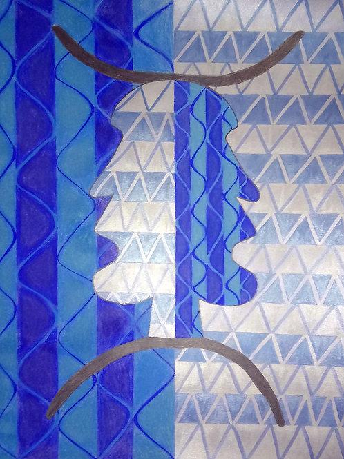 """Multiple Wave-Lengths"" by Evy Wilkins"