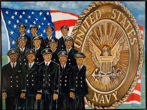 Golden 13 (First US Navy Black Officers)