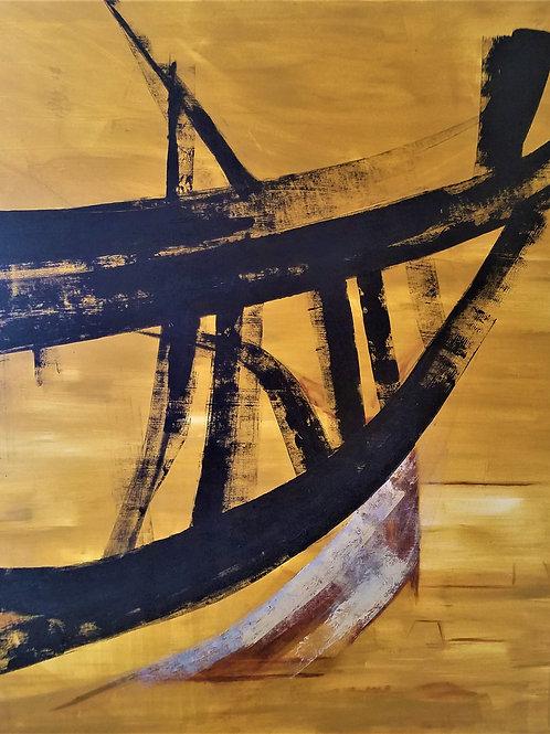 """""""Sea of Aral Sand Trawler"""" by Carolynne Velasco"""