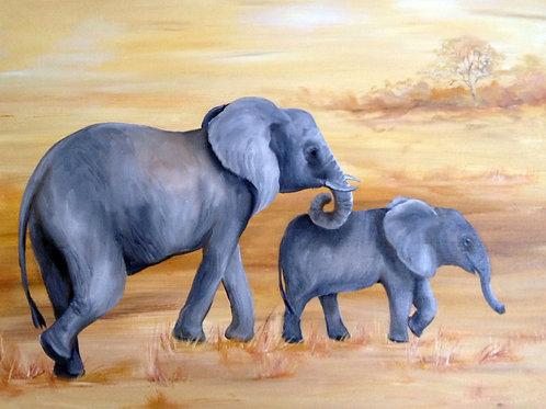 """""""African Plains"""" by Barbara Palana Landry"""