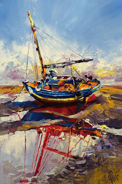 """""""Boat #1"""" by Younes Ansari"""