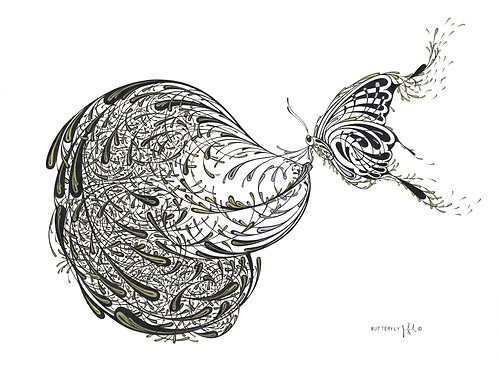 """Butterfly"" by Jim Resnick"