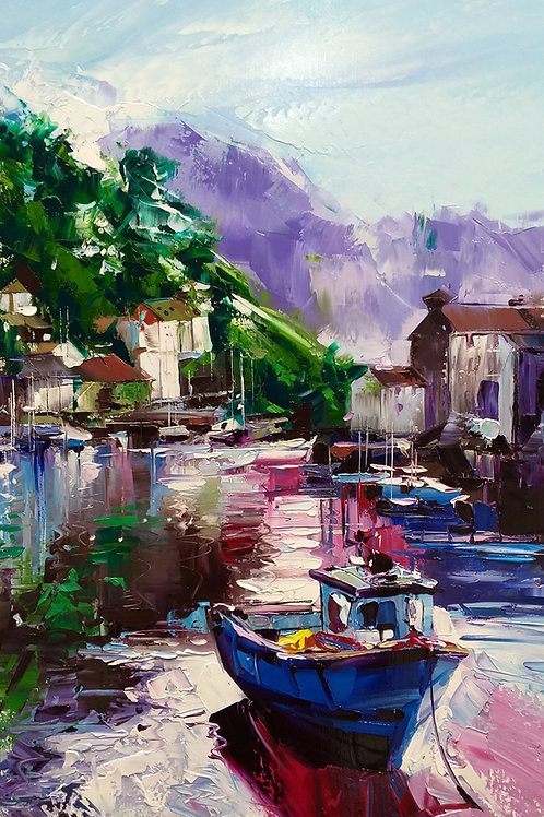 """""""Boat #5"""" by Younes Ansari"""