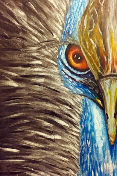 """Cassowary Bird"" by Jimise Winston"
