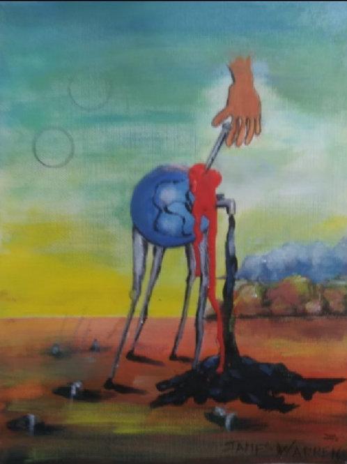 """The Planet is Bleeding"" by James Warren"