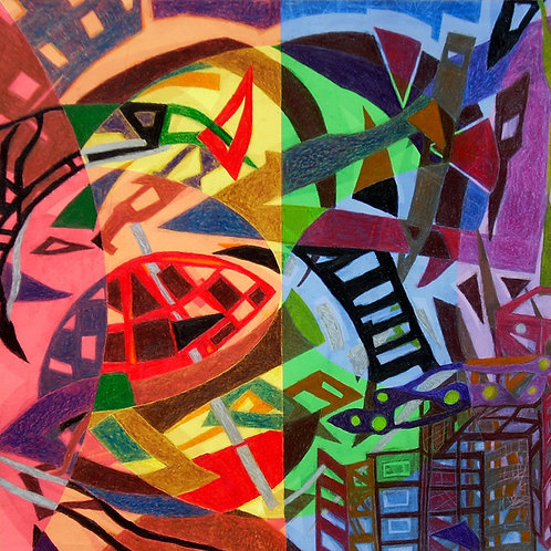 """""""Different As Day and Night II"""" by Winston Harris"""