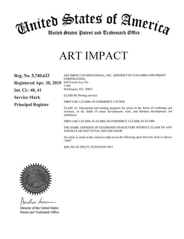 US Reg Certificate - ART IMPACT.jpg