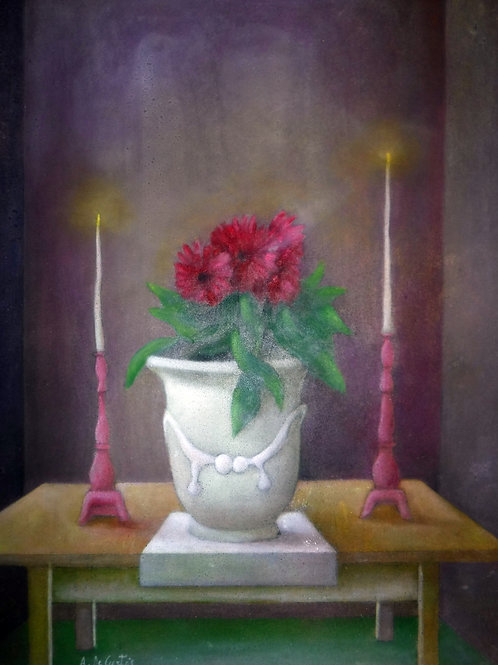 """""""Still Life With Candles"""" by Alfredo DeCurtis"""