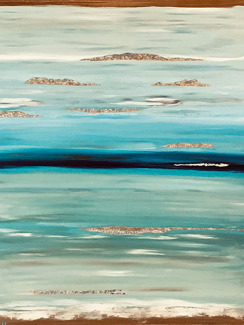 """Ocean After Storm"" by Svetlana Nelson"