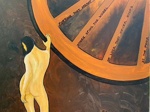 """""""Wheel of Fortune"""" by Peter Casini"""
