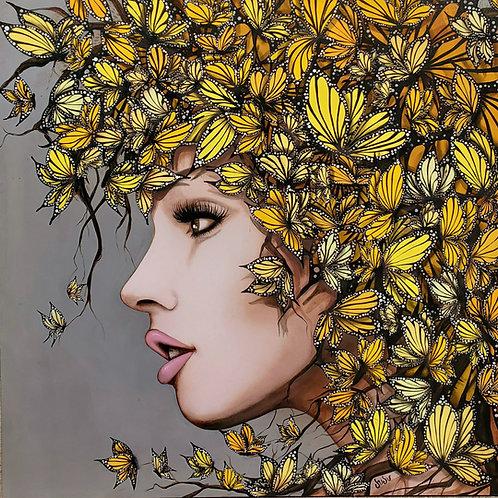 """Golden Butterfly"" by Juju Bartush"