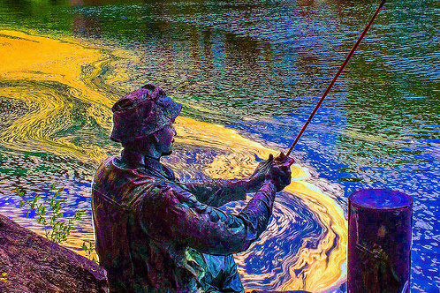 """Fishing"" by Marilyn Lowney Johnson"