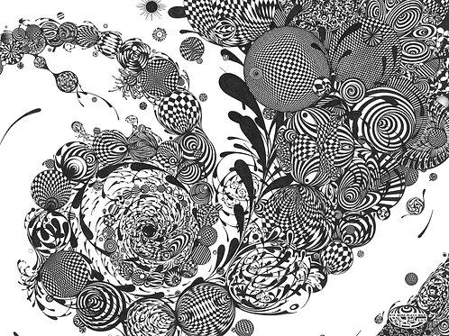 """""""Big Bang Black Hole"""" by Jim Resnick"""