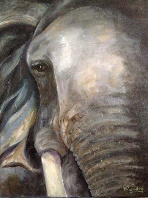 """Elephant"" by Barbara Palana Landry"