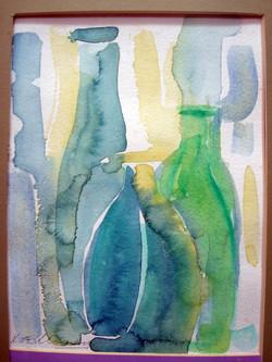 Three Green Bottles