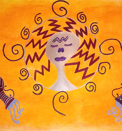 """Aquarius Sun"" by Evy Wilkins"