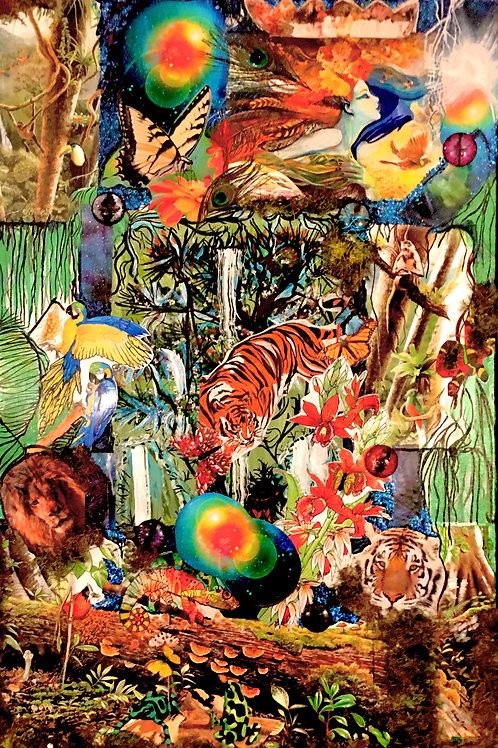 """""""Rain Forest"""" by Wendy Lee Allen"""
