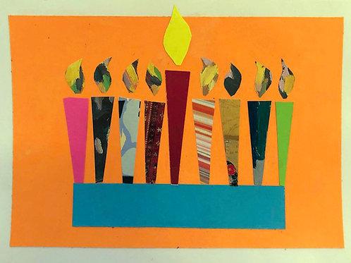 """Happy Hanukkah"" by David L. Kupfer"