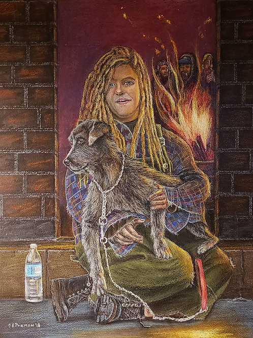 """""""Homeless in America/ While America Slept"""" by Thom Priemon"""