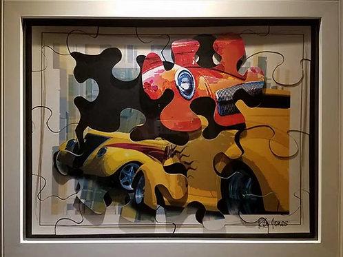 """""""Puzzled"""" by Ken Jones"""