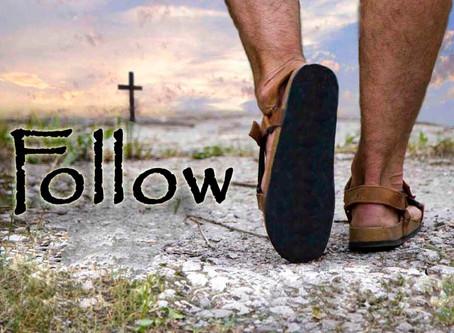 Following Jesus' Path - Matthew 16: 21-28