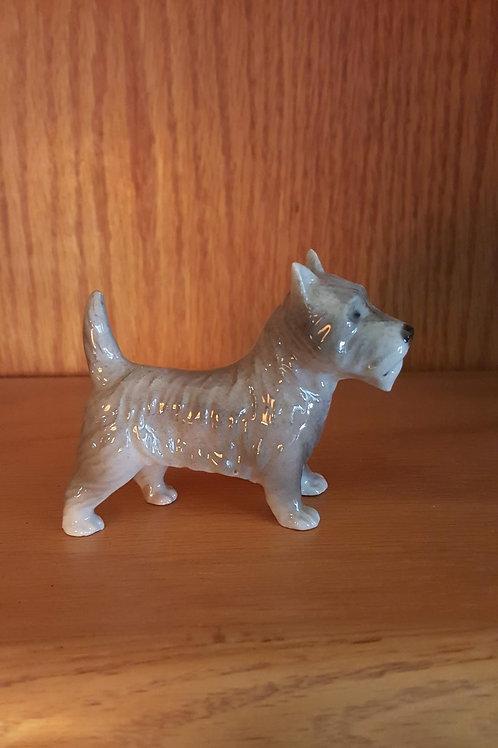 Gray Scottie figurine