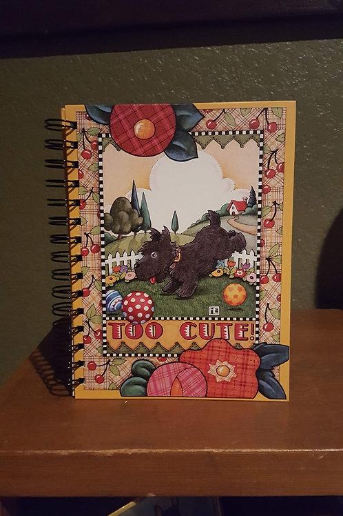 """ME Too cute note book, 8"""" x 6"""""""