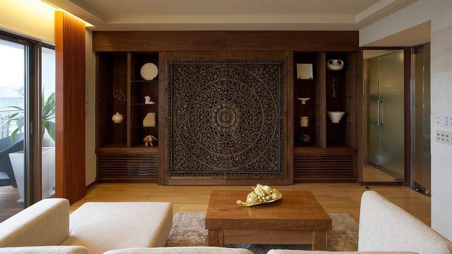FJ House  Living Room