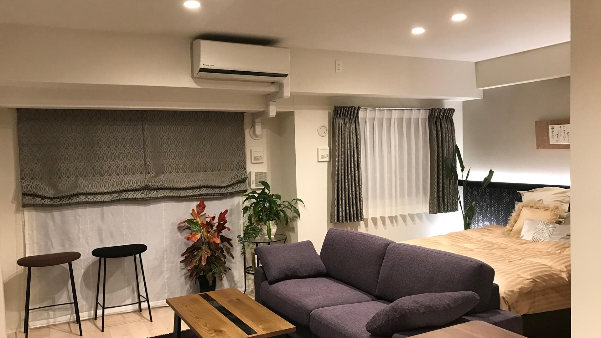 FK House  Living Bed Room