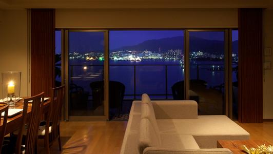 FJ House  Night View