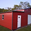 Thumbnail: 46x30x11/8 Crimson Red Step-Down Barn