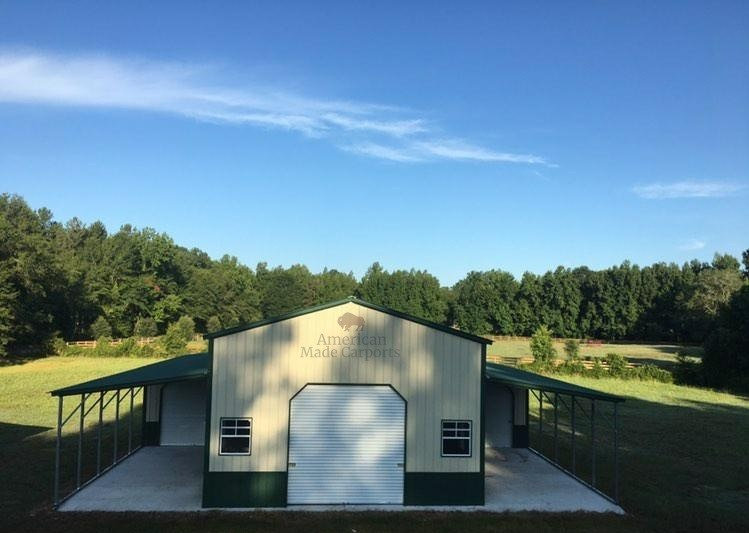 54x50x14/9All-Vertical E. Green Barn