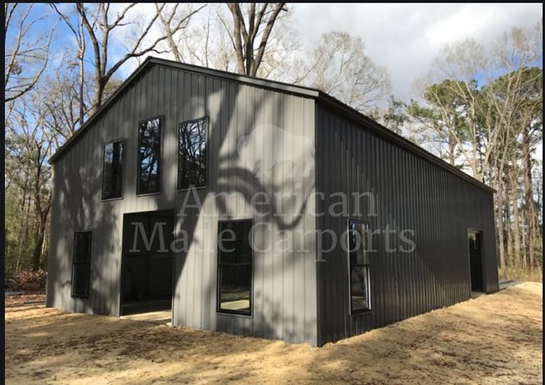 30' x 60' x 14' All-Vertical Garage