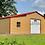 Thumbnail: 54x40x12/9/7 Barn Red Step Down Barn