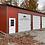 Thumbnail: 30x45x12 All Vertical Roof Garage