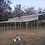Thumbnail: 54x40x10/7 Pewter Gray Step Down Barn