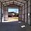 Thumbnail: 18x60x16 All-Vertical RV Shed