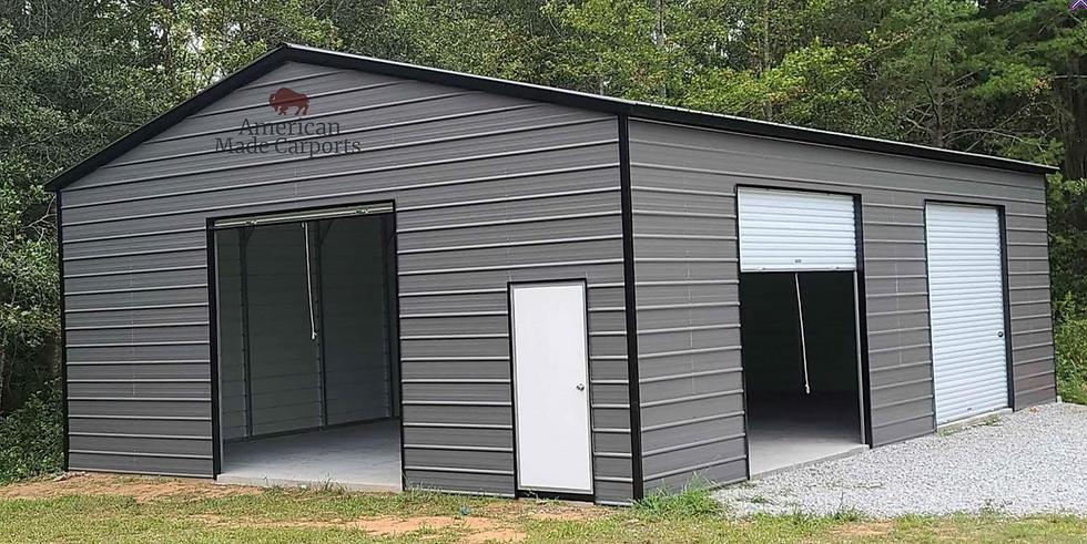 30x40x12 Vertical Roof Garage