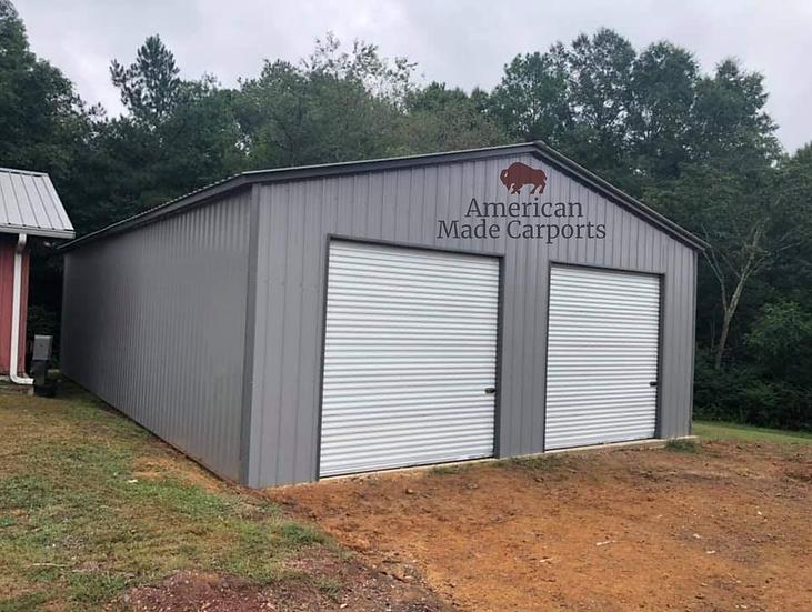 All-Vertical 30x70x14 Pewter Gray Garage
