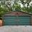 Thumbnail: 24x25x9 Earth Brown Vertical Roof Garage