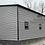 Thumbnail: 26x60x12 Pewter Gray 2 Car Garage
