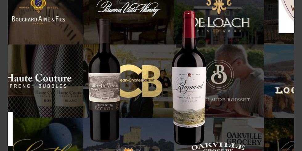 Taste California Wine Country: A Virtual Tasting Experience