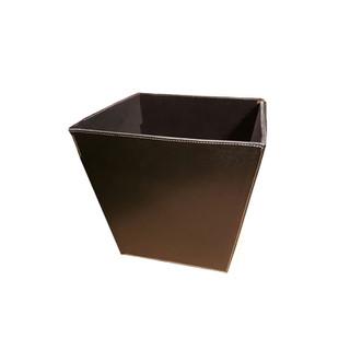 Leather Dust Bin for Office