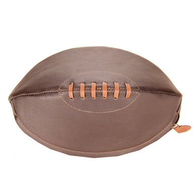 Rugby Ball Shaped Wash Bag